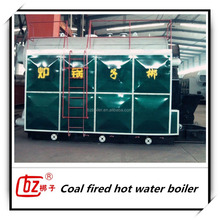 small district hot water boiler
