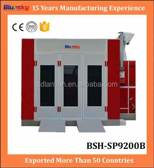 China supplier alibaba spray paint machine price/car paint shop/water curtain spray booth
