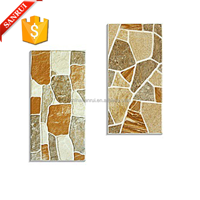 300x600mm building outdoor sand stone wall tile artificial cultured marble tiles roofing materials