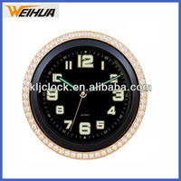 12 inch gold frame luminated clock