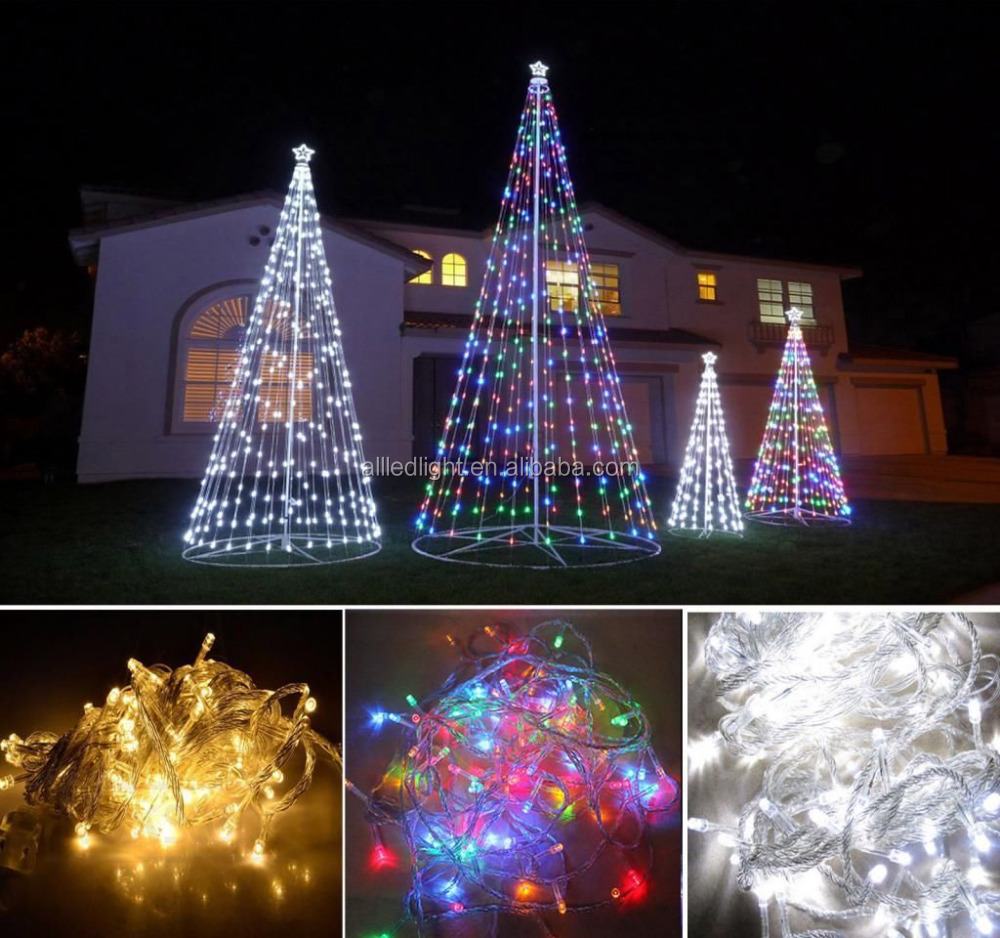 Ce rohs high quality wedding wholesale mini christmas led for Led outdoor christmas ornaments