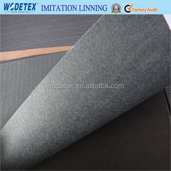 Nonwoven imitation leather Synthetic leather for shoe lining