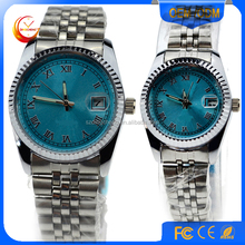 Fashion fancy alloy quartz watch for men and women, couple lover watch