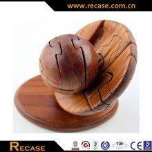 wooden jigsaw puzzle, Wooden rugby Craft, football, bowling, teapot puzzle game