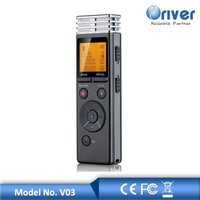 FM 1.3inch digital voice recorder with password protect phone voice recorder