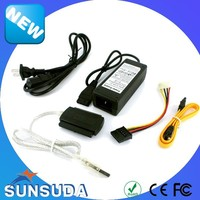 ide & sata series external sata hdd dvd-rom usb 2.0 otb adapter usb 2.0 to sata and ide adapter