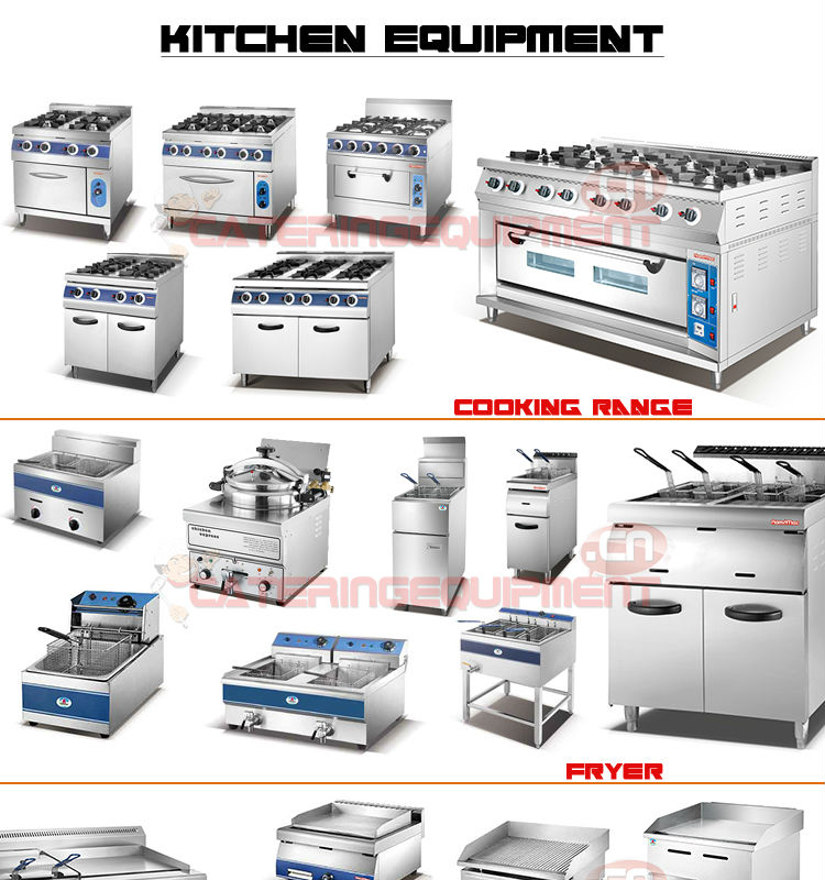 Stainless steel restaurant commercial kitchen equipment for Kitchen equipment names