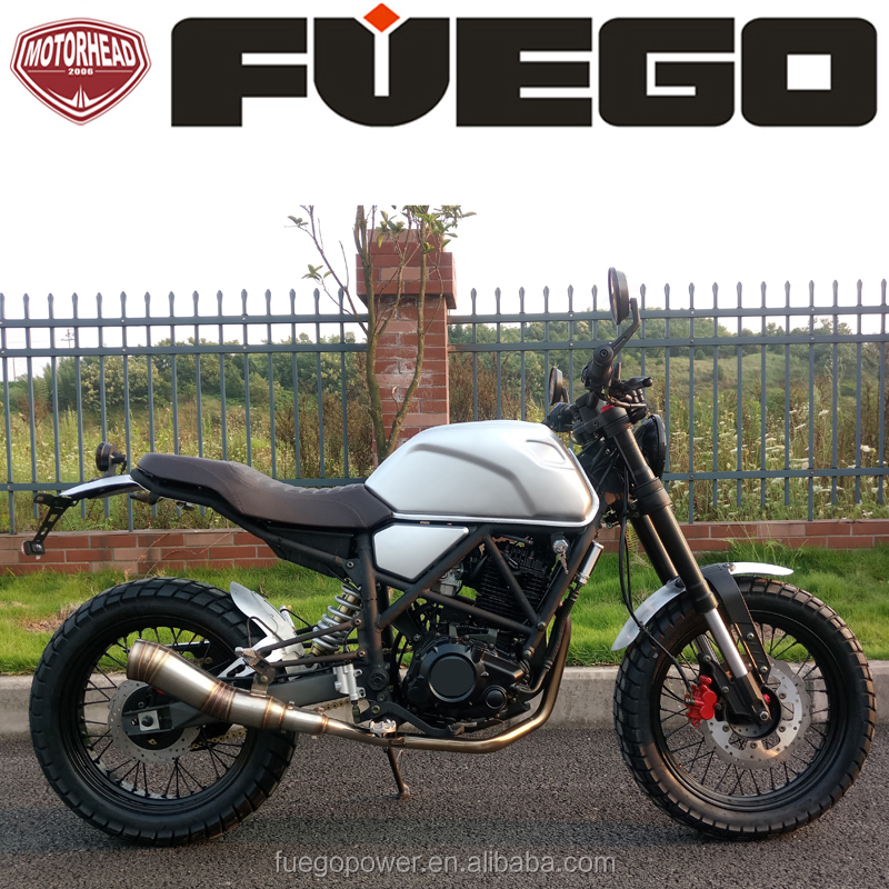 CAFE RACER 250CC Scrambler Bike Street Racing Dirtbike