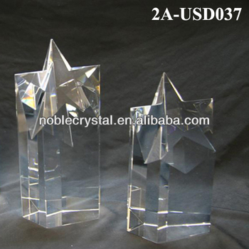 Noble New Design Blank Crystal Trophy Award