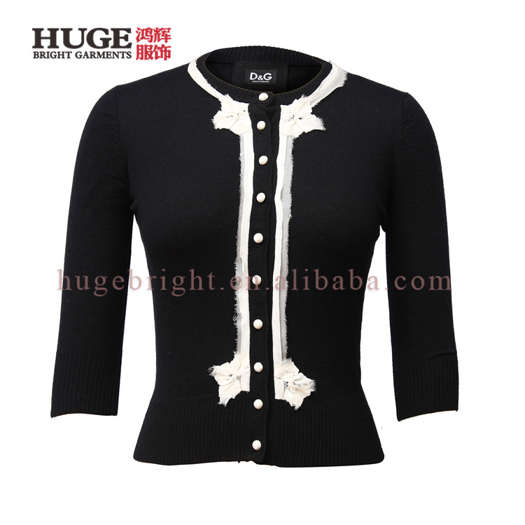 Latest Design Ladies New Style Knitwear Cardigan Manufacturers