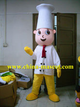 customized chef cartoon costume