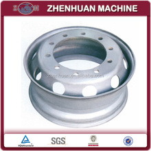 Steel wheel rim production line