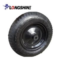3.50-8 inflatable wheel barrow tire