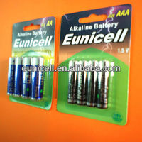 Lr6 am3 aa akaline battery 1.5v tv remote aa battery