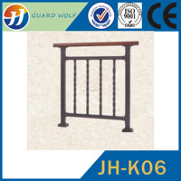 High quality long duration time staircase ornamental iron railings of China National Standard