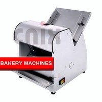 CE approved used equipment for bakery automatic bread slicer