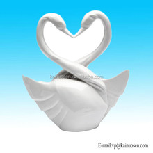 Swan Wedding Cake Toppers, 5-3/4-Inch