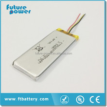 Hot selling!!! Rechargeable li ion battery 3.7v 550mah li-ion battery 3.7v with reasonable price