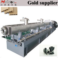 Double screw extruder for High Filler Master Batch Compounding waste recycle plastic machine production line with high quality
