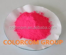 Fluorescent Pink Pigment for Solvent Inks