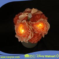 LED artificial plant and Flower flower pot infrared induction LED fiber optic flower lights