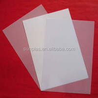 clear ABS plastic sheeting