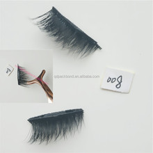 Factory wholesale silk magnet lashes false synthetic magnetic eyelash