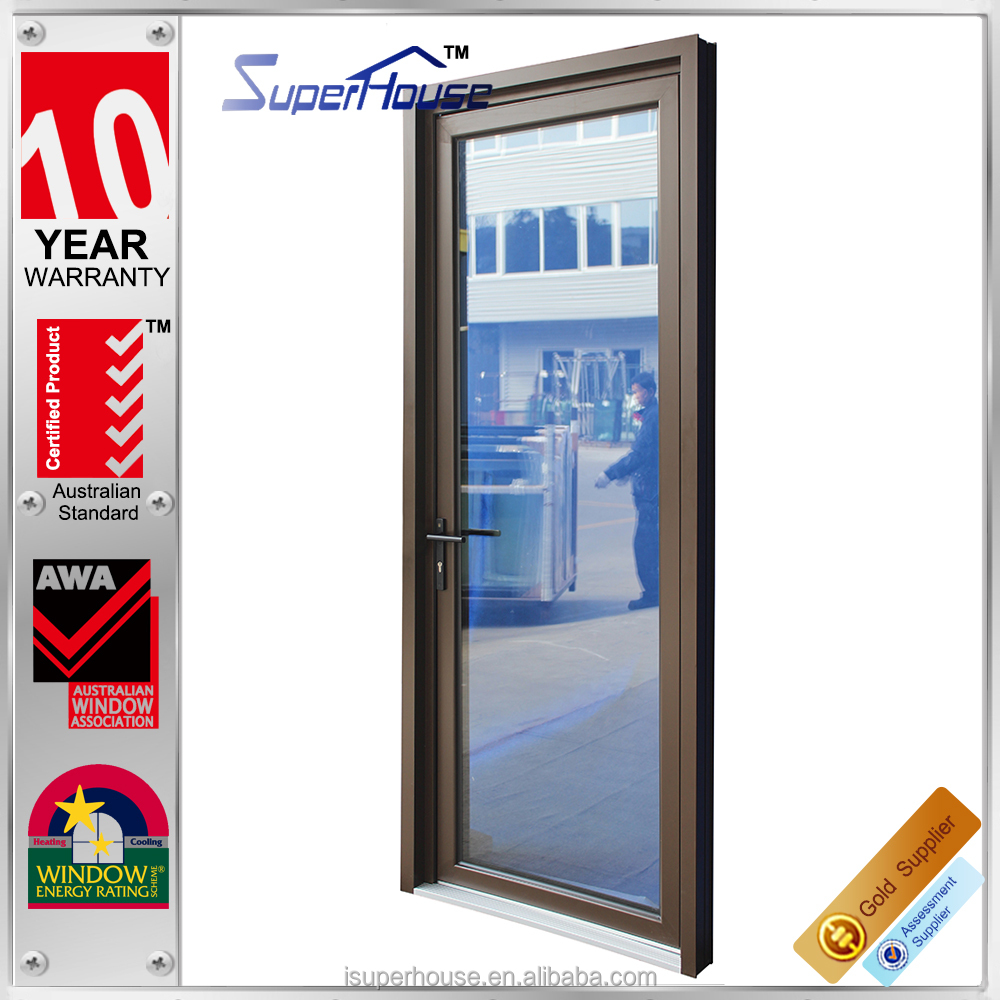 high quality wholesale aluminum double glazed single french door awning window with german hardware