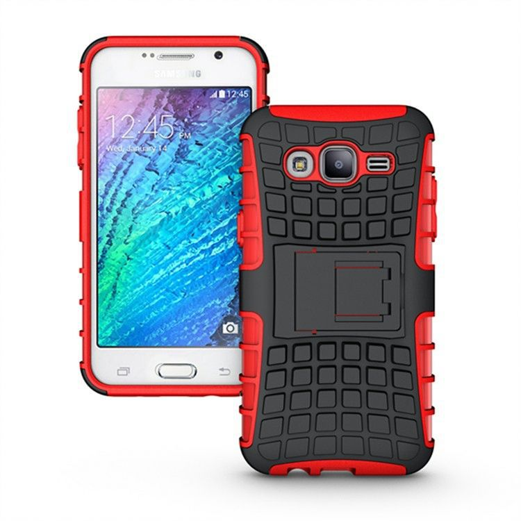 Kickstand Heavy Duty Hybrid Shockproof Case for Samsung Galaxy S4 Mini I9190
