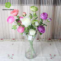 best price for fake tea rose used for wedding decoration china artificial flower