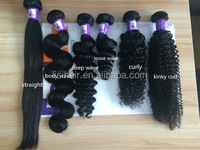 Full Cuticles Straight High Quality 100% Natural Human Hair Price List Wholesale Virgin Indian Hair