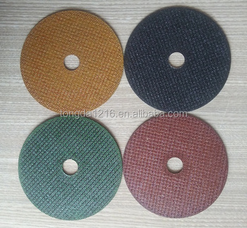 Tongda high quality Cut Off Wheel Customized / thin cut off wheel / abrasives cut off wheel
