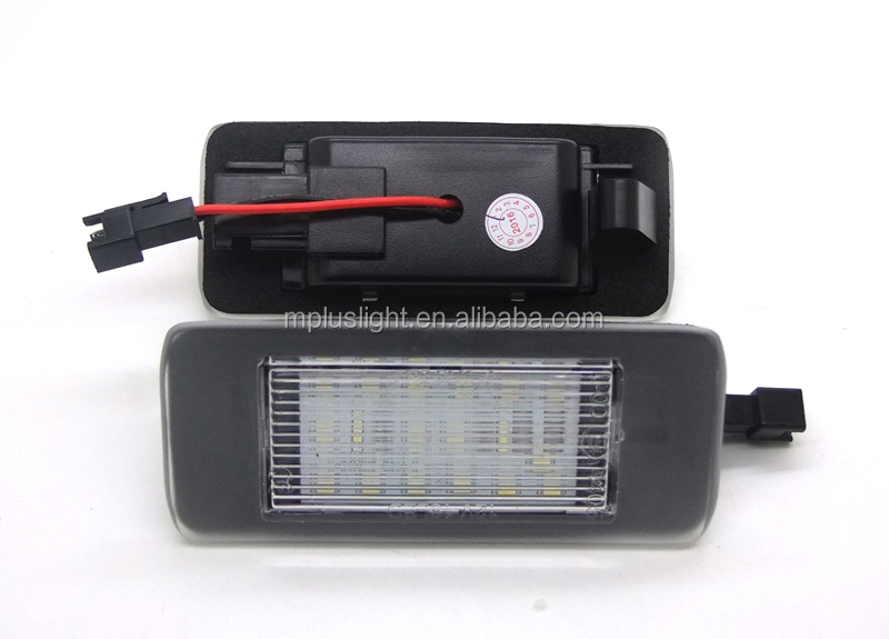 hot selling auto accessory car plate light led license plate lights for opel zafira led license plate lamp