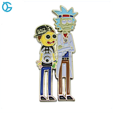 Wholesale high quality cheap bluk cartoon logo printing lapel pin manufacturers china