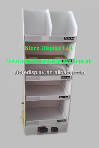 2012 New style Store Display for promoting Ipad neoprene sleeves in supermarket