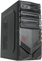 Custom Logo Horizontal Gaming ATX Computer Case with ATX Power Supply