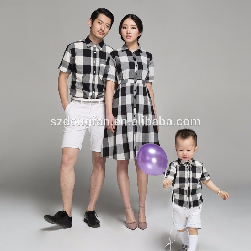 family matching clothing mother and daughter matching dresses father and son matching clothes