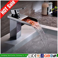 High-quality color basin bath induction led bath faucet