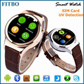Hotsale FM, Calendar, Voice recorder Bluetooth Watch oem for samsung s7