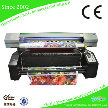 guangzhou post fabric printer 1.8m flag printer