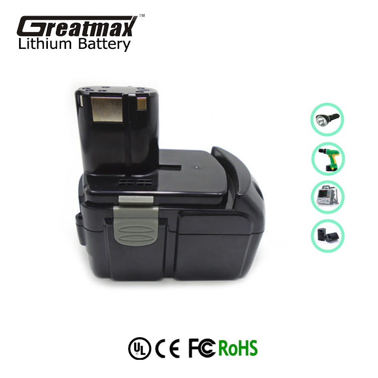 Rechargable replacement batteries pack 18V lithium battery for cordless drill Hitachi BCL1830 EBM1830 C18DL C18DLX CJ-open
