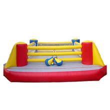 HI EN14960 Inflatable Bouncy Boxing inflatable boxing rings for kids play in best price