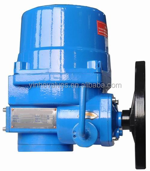 electric valve actuator for butterfly valves