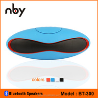NBY BT-300 Rugby Ball Shape Outdoor Active Wireless Bluetooth Speaker