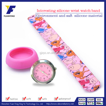 Wholesale heat transfer print slap watch for students