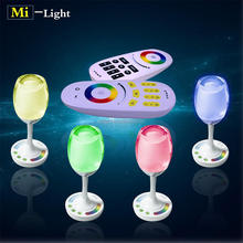 Smart wifi remote control led handy light, rgbw color changing with table lamp bulb, good atmosphere for home use`