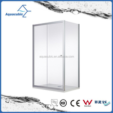 Glass shower doors steam and sauna bathroom shower enclosure