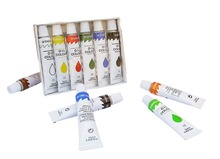 Memory acrylic paint 6 colour 12ML for students