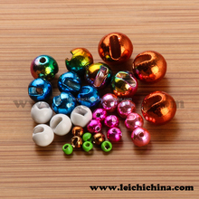 Wholesale low price tungsten slotted fly tying beads