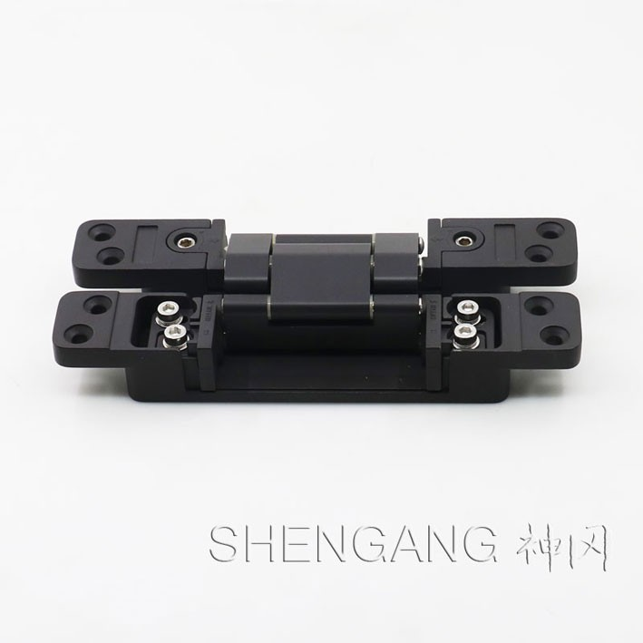 black color 180 degree hinges invisible door hinges low price